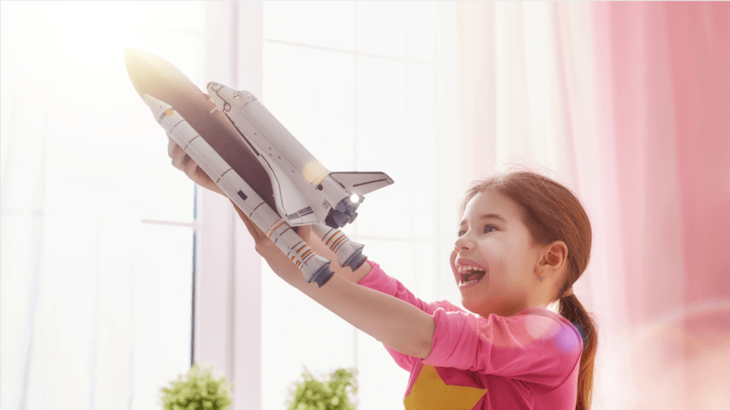 Toy Rocket Ships for Kids