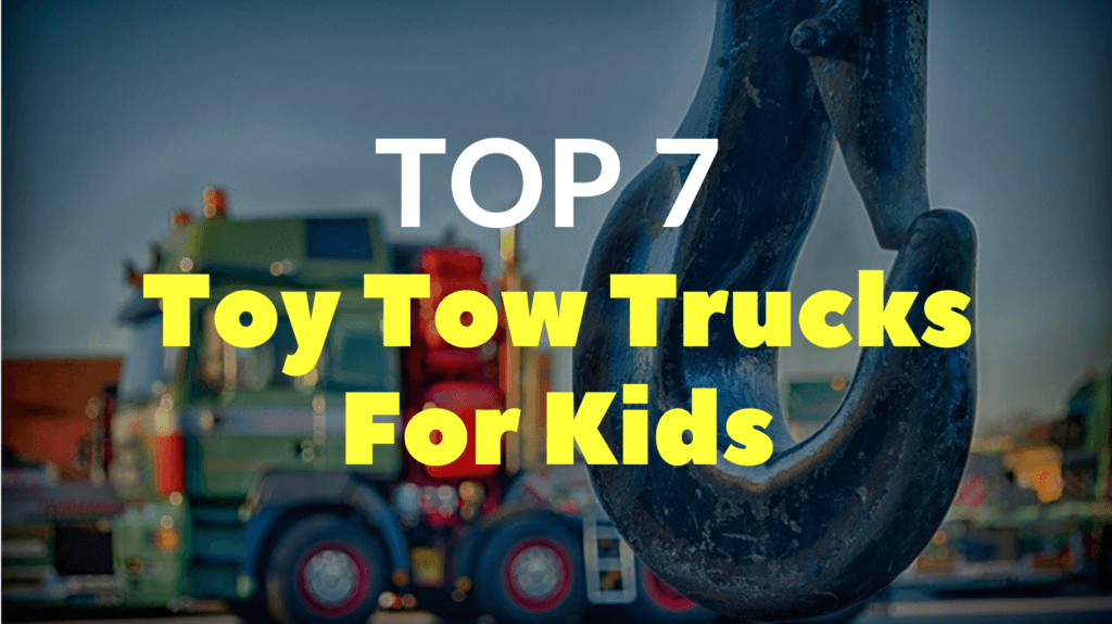 Toy Tow Trucks For Kids