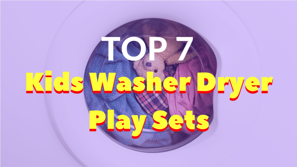 Best Kids Washer Dryer Play Set