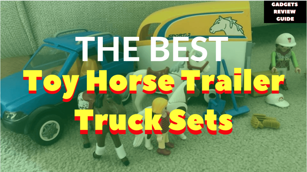 Toy Horse Trailer Truck Sets for Kids