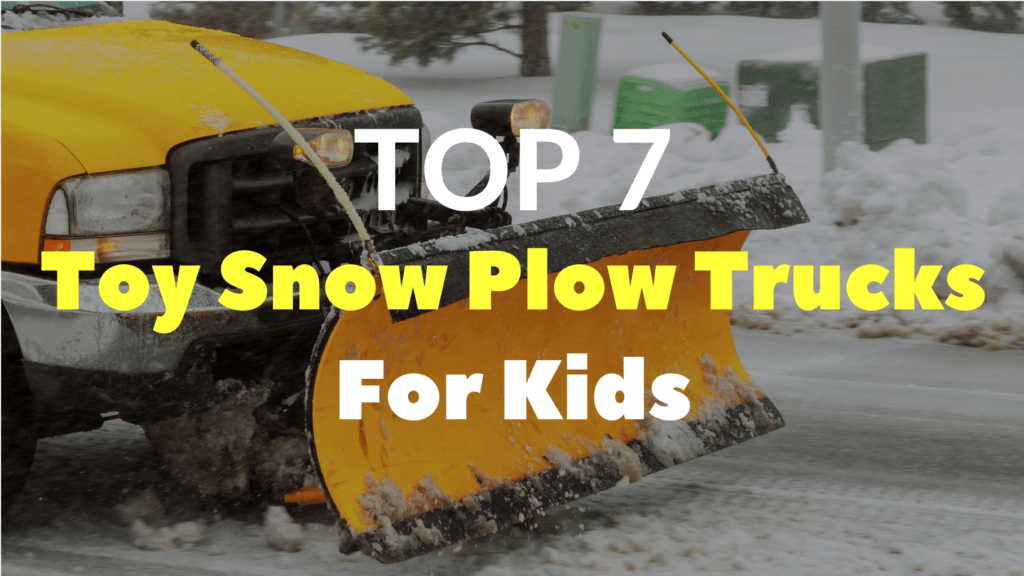 Toy Toy Snow Plow Trucks For Kids