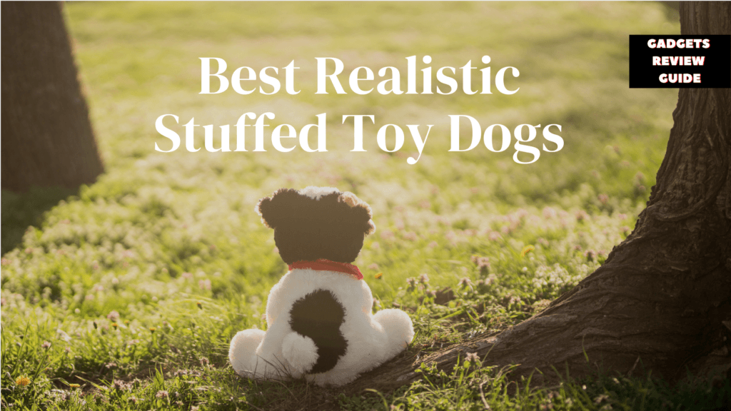 Realistic Stuffed Toy Dogs