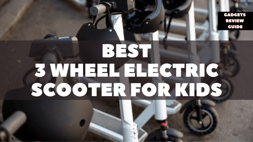 Tri-Wheel Electric Scooter for Kids