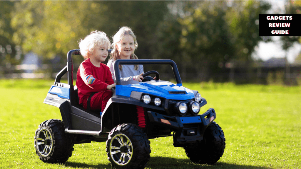 2 Seater Ride on Cars With Parental Remote Control